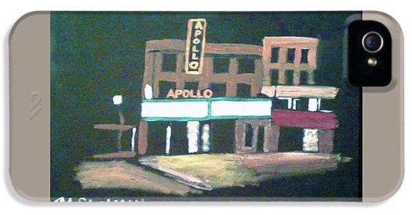 Apollo Theater iPhone 5 Case - Apollo Theater New York City by Michael Chatman