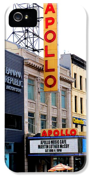 Harlem iPhone 5 Case - Apollo Theater by Randall Weidner