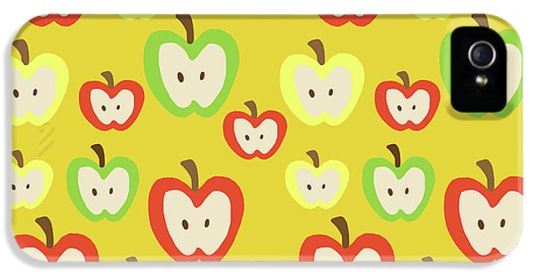 Apples IPhone 5 Case by Nicole Wilson