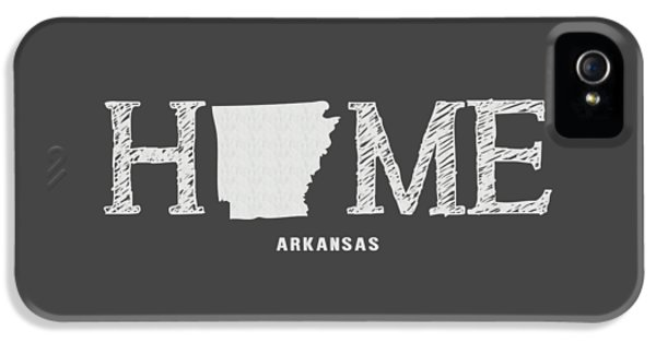 University Of Arkansas iPhone 5 Case - Ar Home by Nancy Ingersoll