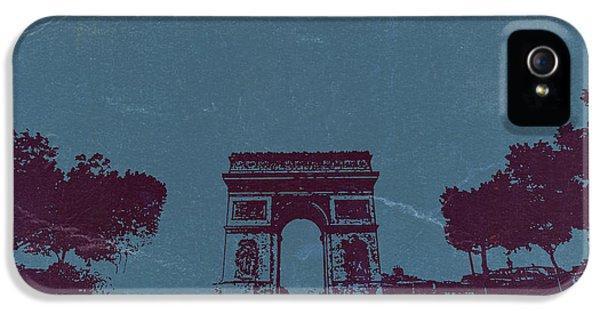 Arc De Triumph IPhone 5 Case by Naxart Studio