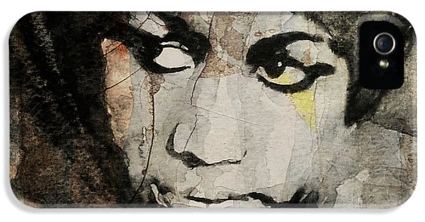 Rhythm And Blues iPhone 5 Case - Aretha Franklin - Don't Play That Song For Me  by Paul Lovering