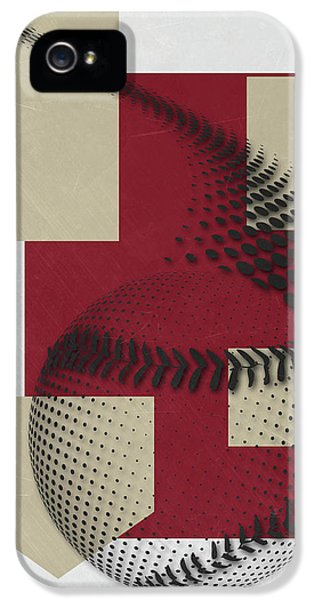 Arizona Diamondbacks Art IPhone 5 Case by Joe Hamilton