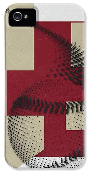 Arizona Diamondbacks Art IPhone 5 Case by Joe Hamilton