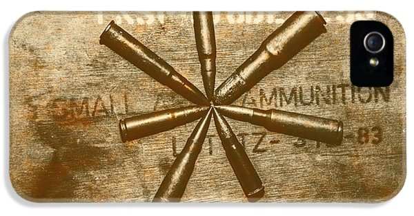 Army Star Bullets IPhone 5 Case by Jorgo Photography - Wall Art Gallery