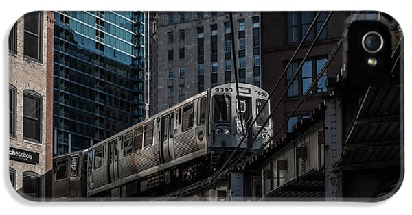 Around The Corner, Chicago IPhone 5 / 5s Case by Reinier Snijders