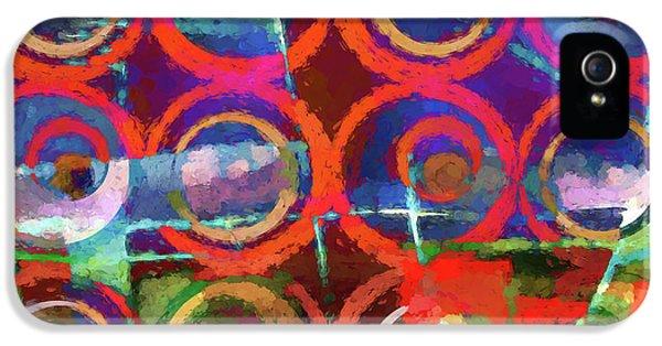 Art Poster Paint IPhone 5 Case by Lutz Baar