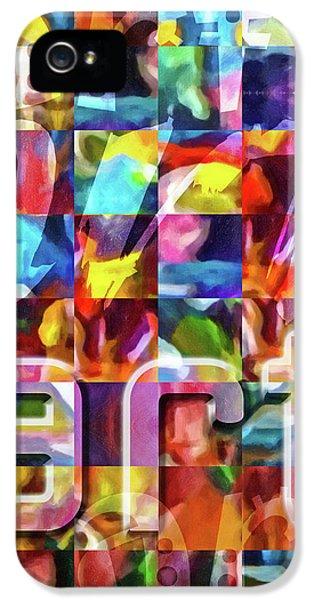 Art Type IPhone 5 Case by Lutz Baar