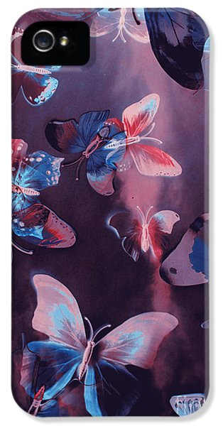 Fairy iPhone 5 Case - Artistic Colorful Butterfly Design by Jorgo Photography - Wall Art Gallery