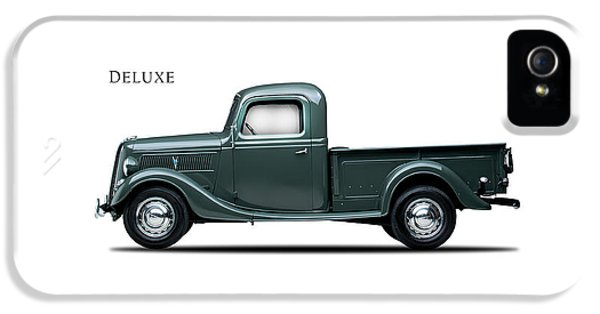 Ford Deluxe Pickup 1937 IPhone 5 Case