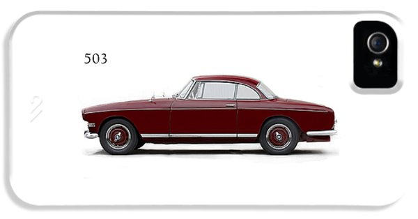 Bmw 503 Coupe 1956 IPhone 5 Case by Mark Rogan