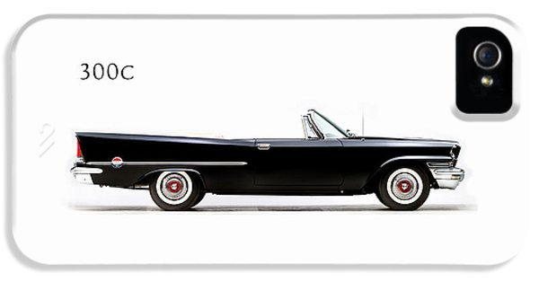 Car iPhone 5 Case - Chrysler 300c 1957 by Mark Rogan