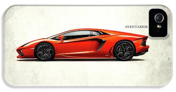 Lamborghini Aventador IPhone 5 Case by Mark Rogan