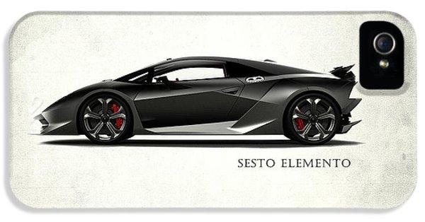 Lamborghini Sesto Elemento IPhone 5 Case by Mark Rogan