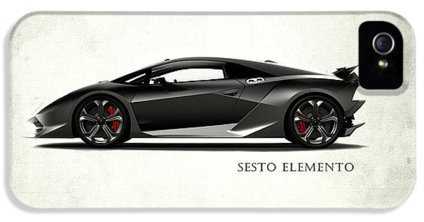 Lamborghini Sesto Elemento IPhone 5 Case