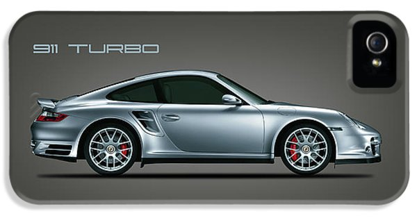 Car iPhone 5 Case - Porsche 911 Turbo by Mark Rogan