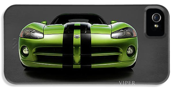 Dodge Viper IPhone 5 Case by Mark Rogan