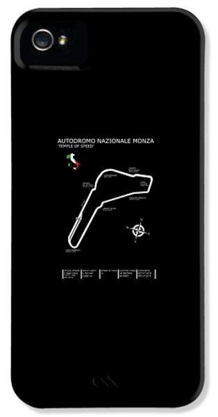 Autodromo Nazionale Monza IPhone 5 Case by Mark Rogan