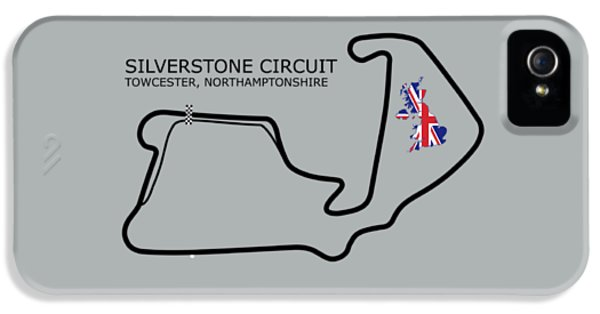 Silverstone Circuit IPhone 5 Case by Mark Rogan