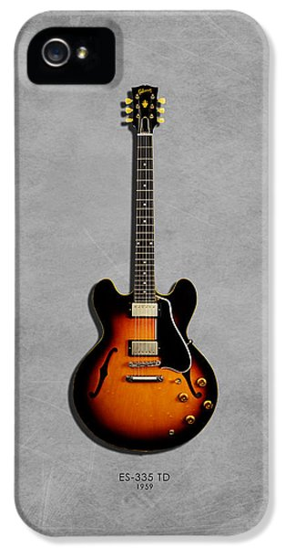 Gibson Es 335 1959 IPhone 5 Case by Mark Rogan