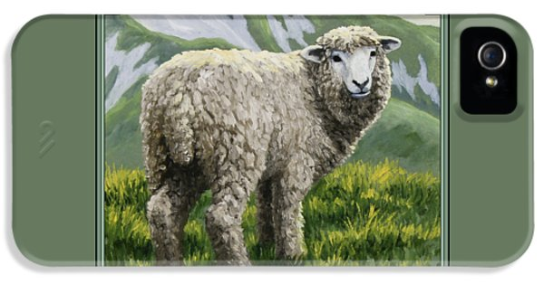 Highland Ewe IPhone 5 / 5s Case by Crista Forest