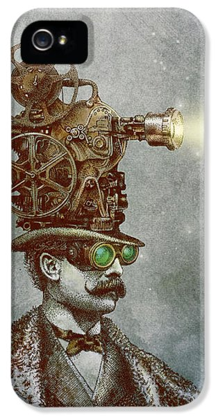 Magician iPhone 5 Case - The Projectionist by Eric Fan