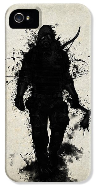 Apocalypse Hunter IPhone 5 Case
