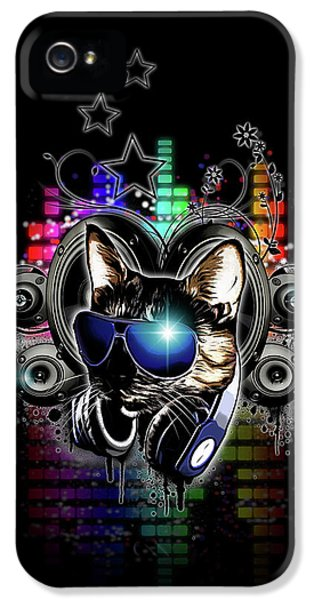 Drop The Bass IPhone 5 Case by Nicklas Gustafsson
