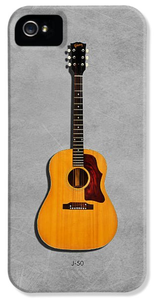 Gibson J-50 1967 IPhone 5 Case by Mark Rogan