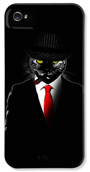 Mobster Cat IPhone 5 Case
