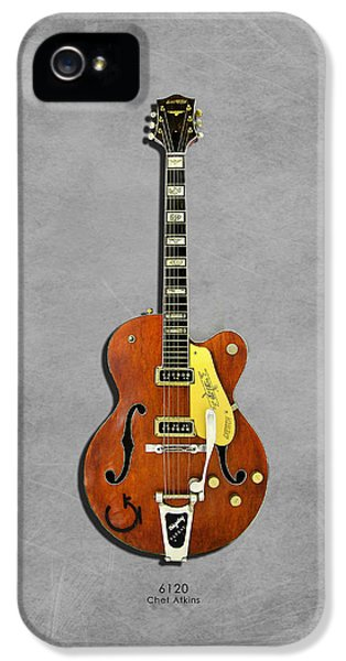 Gretsch 6120 1956 IPhone 5 Case by Mark Rogan