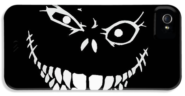 Bass iPhone 5 Case - Crazy Monster Grin by Nicklas Gustafsson