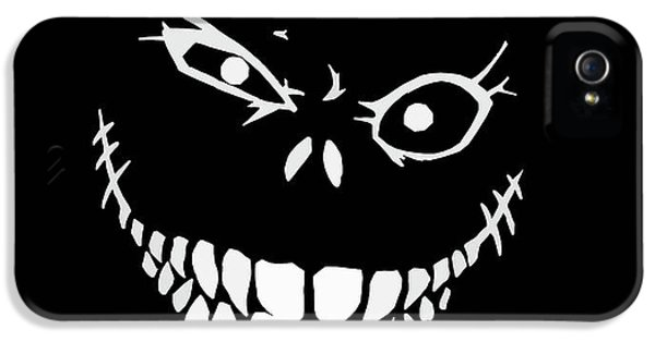 Crazy Monster Grin IPhone 5 Case by Nicklas Gustafsson
