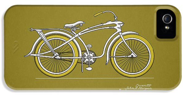 Bicycle 1937 IPhone 5 Case by Mark Rogan