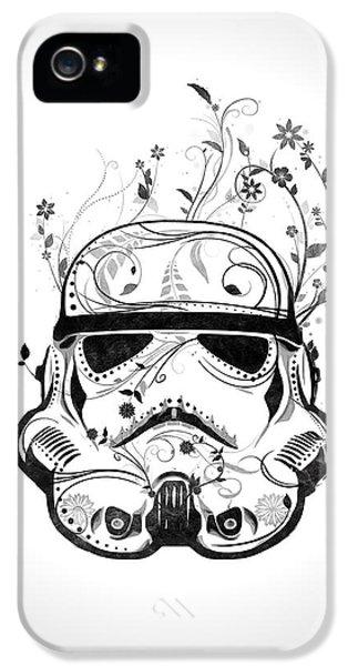 Flower Trooper IPhone 5 Case by Nicklas Gustafsson