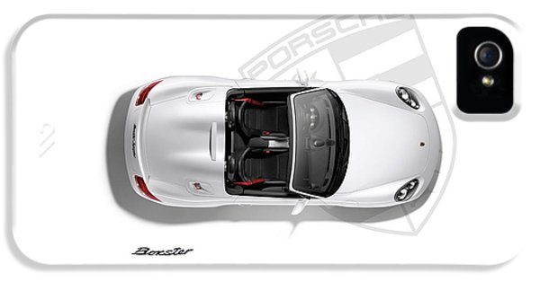 Porsche Boxster IPhone 5 Case by Mark Rogan