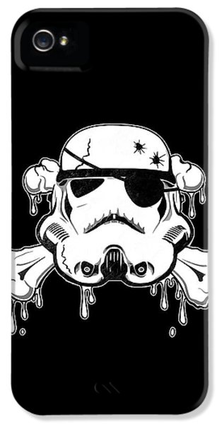 Pirate Trooper IPhone 5 Case by Nicklas Gustafsson
