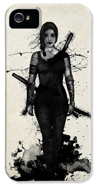 Caucasian iPhone 5 Cases - Onna Bugeisha iPhone 5 Case by Nicklas Gustafsson