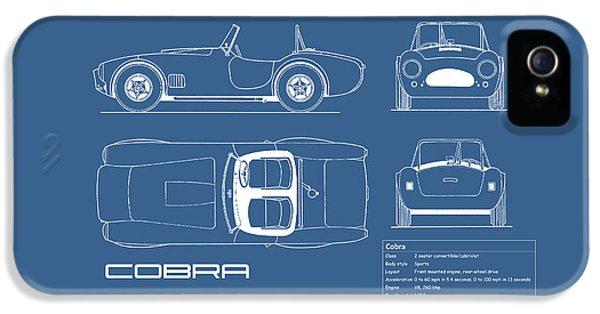 Ac Cobra Blueprint IPhone 5 Case