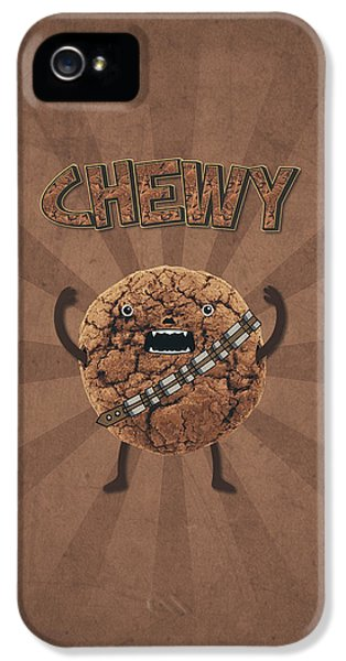 Chewy Chocolate Cookie Wookiee IPhone 5 Case by Philipp Rietz