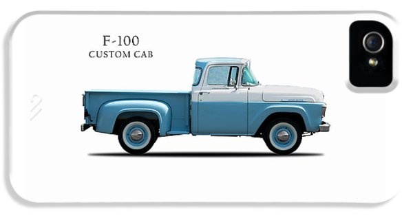 Ford F-100 1958 IPhone 5 Case