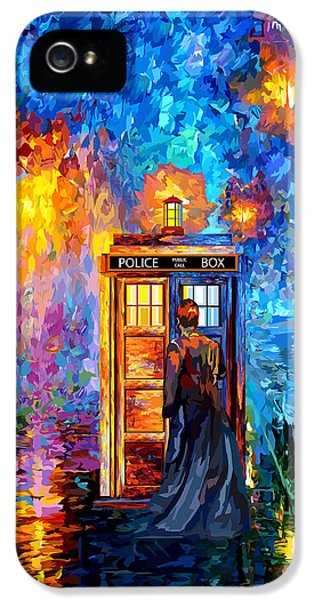 The Doctor Lost In Strange Town IPhone 5 Case