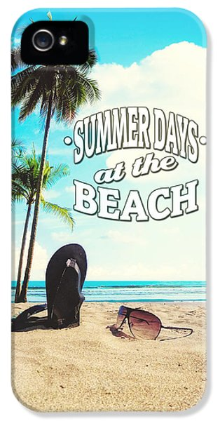 Summer Days IPhone 5 Case by Nicklas Gustafsson