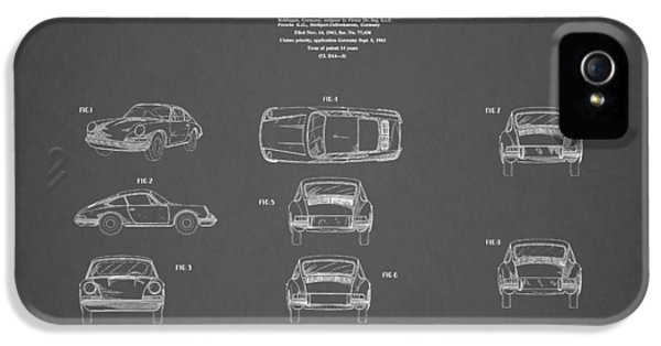 Porsche 911 Patent 1964 IPhone 5 Case