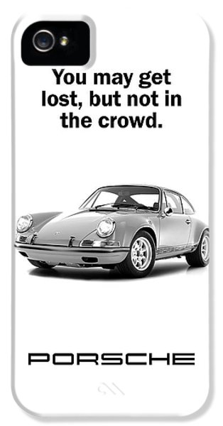 Lost In A Porsche IPhone 5 Case