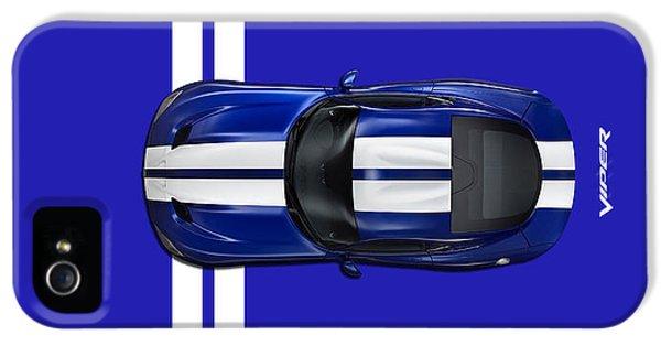 Viper iPhone 5 Case - The Blue Viper by Mark Rogan
