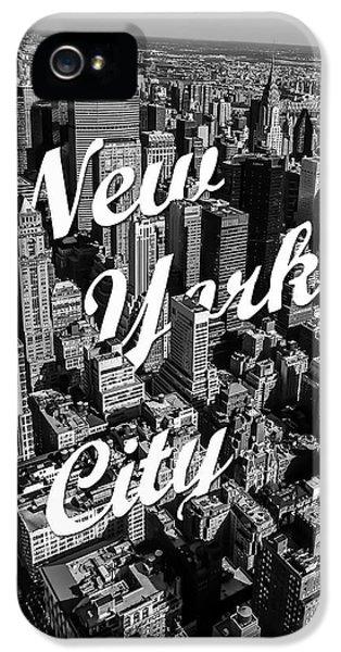 White iPhone 5 Case - New York City by Nicklas Gustafsson