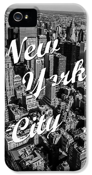 New York City IPhone 5 Case by Nicklas Gustafsson