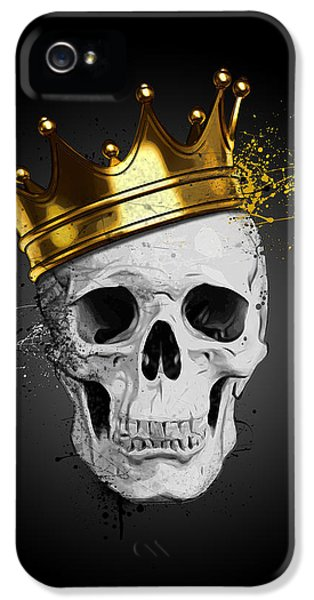 Royal Skull IPhone 5 Case by Nicklas Gustafsson