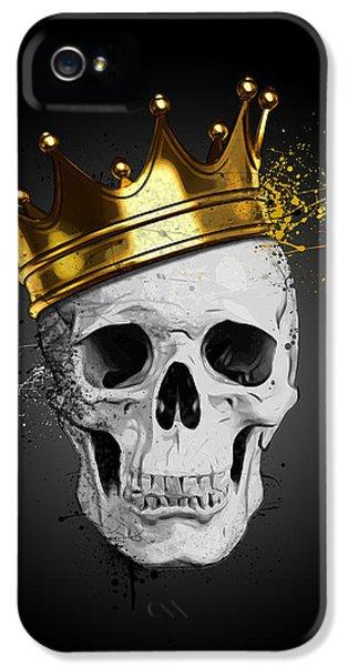 Royal Skull IPhone 5 Case by Nicklas Gustafsson